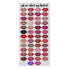 ask me about my lipstick - Lipsense 50 Lipstick kiss Lip Color Chart Kisses Beach Towel