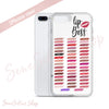 Lipboss - Lipsense Lip Boss Color Chart Swatches Phone Case - iPhone