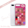 Lipsense Lipstick Lip Color Chart Blocks Phone Case - iPhone