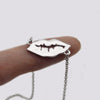 Feminine Lips Kiss Lippy Necklace Gold|Silver|Rose Gold