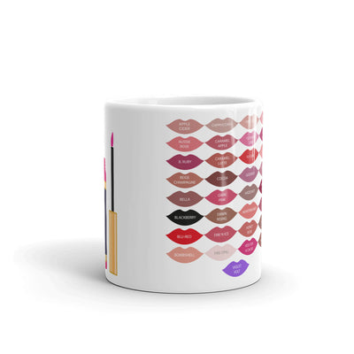 Lipsense Kisses 50 Lip Colors tube/wand Coffee Cup Mug 11oz | 15 oz