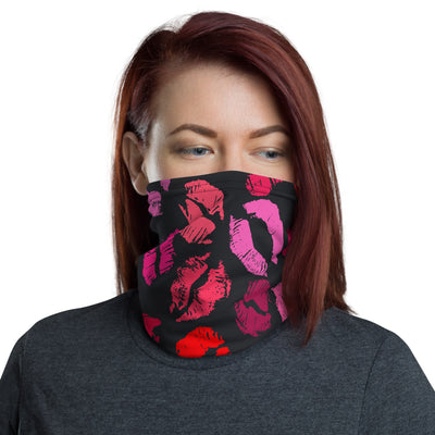 Assorted Lipstick Kisses Lips Face Covering Mask or Headband