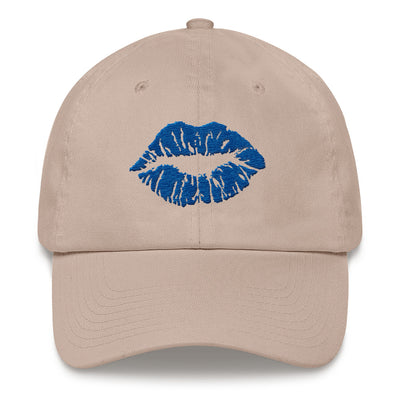 SeneBlue Lips lipstick kiss print hat baseball cap 8 Colors Available - MADE IN THE USA