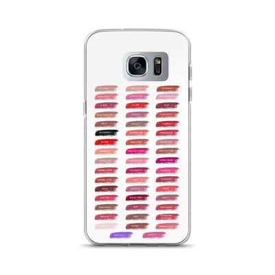 Lipsense Lip Color Chart Swatches Phone Case - Samsung