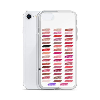 Lipsense Lip Color Chart Swatches Phone Case - iPhone
