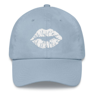 lips kiss print hat baseball cap 7 Colors Available MADE IN THE USA