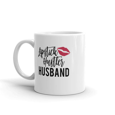Lipstick Hustler Husband & Lipsense Lip Color Swatches Coffee Cup Mug 11oz | 15 oz