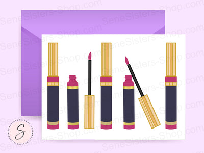 Lipsense Lineup Postcard Business Marketing Card Instant Digital Download Printable