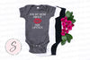 Ask My Mom About Her Lipstick - Baby Onesie - 7 Colors AVAILABLE Size: Newborn - 24M - Infant Jersey Bodysuit - MADE IN THE USA