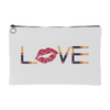LOVE - Travel Lipsense Makeup Accessory Cosmetic Tote or Money Bag Size: Small or Large