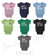 mini Lip Boss - Baby Onesie - 7 Colors AVAILABLE Size: Newborn - 24M - Infant Jersey Bodysuit - MADE IN THE USA