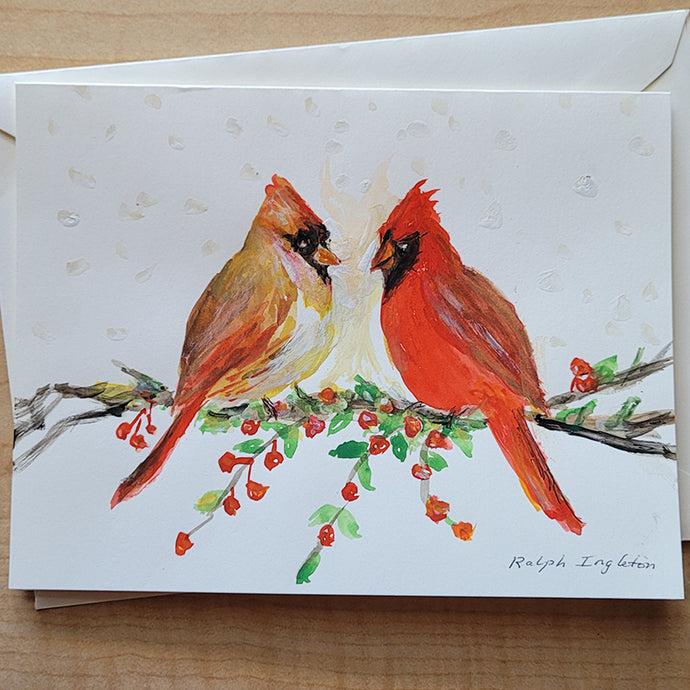 Hand Painted Card -
