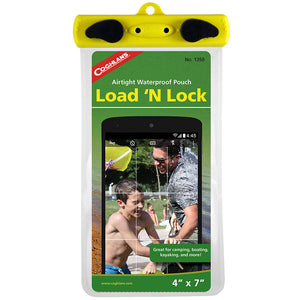 "Load 'N Lock Waterproof Pouch 4"" x 7"""