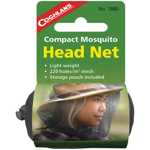 Compact Mosquito Head Net