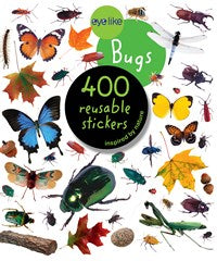 Reusable Stickers - Bugs