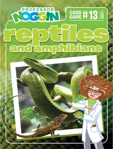 Professor Noggin Reptiles and Amphibians