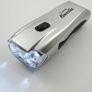 Dynamo 3 LED Flashlight
