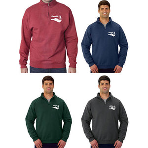 Quarter Zip Fleece Pullover