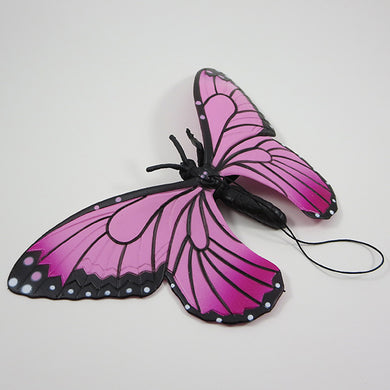 Rubber Butterfly - Pink