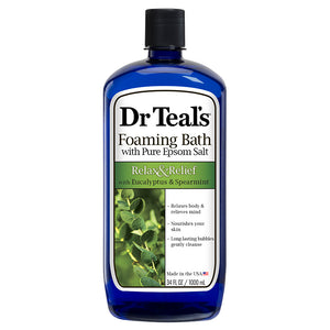 Dr Teal's Foaming Bath - Eucalyptus 710ml