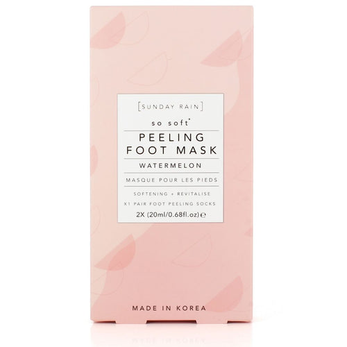 Sunday Rain - Peeling Foot Mask Watermelon