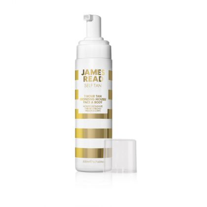 Distinct Distribution - James Read - 1 Hour Tan Bronzing Mousse Face & Body - Tanning