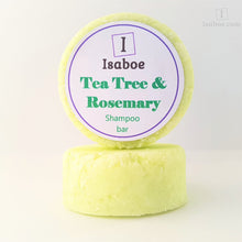 Load image into Gallery viewer, Shampoo Bars for Oily or Dandruff Hair - Tea Tree and Rosemary
