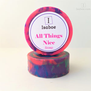 All Things Nice Soap - Round