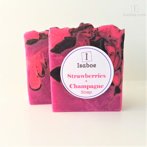 Strawberries & Champagne Soap