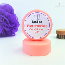 Load image into Gallery viewer, Watermelon Hair Conditioning Bar,Conditioning Bars,Isaboe,Gift Creations.