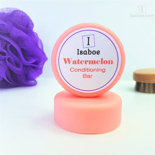 Watermelon Hair Conditioning Bar,Conditioning Bars,Isaboe,Gift Creations.