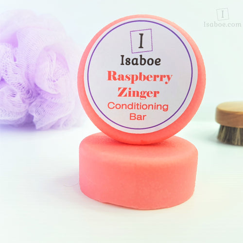 Raspberry Zinger Hair Conditioning Bar,Conditioning Bars,Isaboe,Gift Creations.