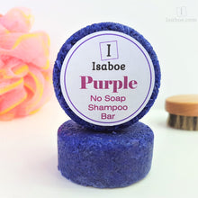 Load image into Gallery viewer, Purple No Soap Shampoo Bar,Shampoo Bar,Isaboe,Gift Creations.