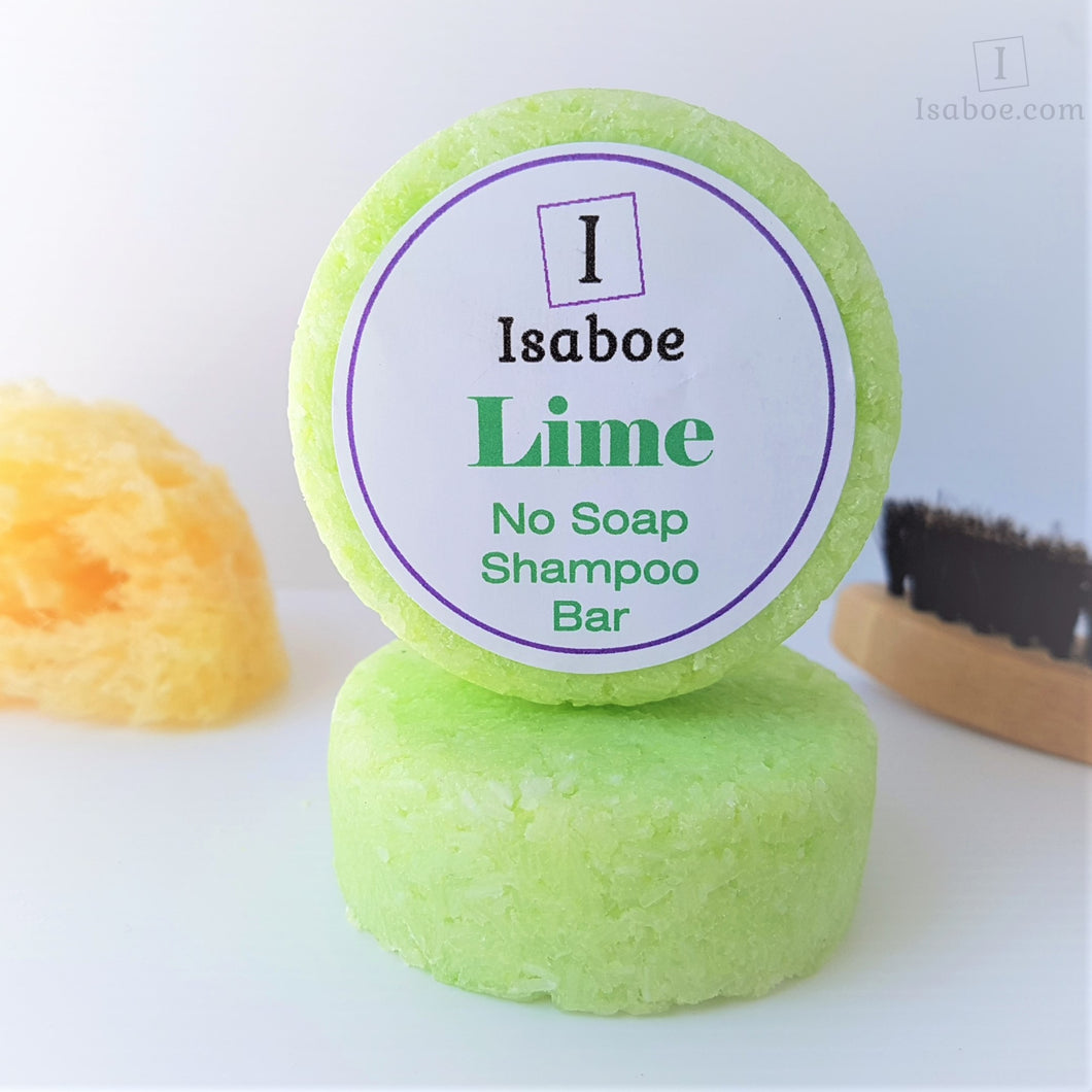 Lime No Soap Shampoo Bar,Shampoo Bar,Isaboe,Gift Creations.