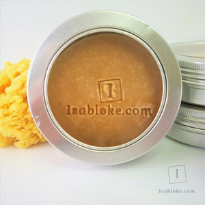 Shaving Soap Tin - Lemon Verbena,Shaving Set,Isabloke,Gift Creations.