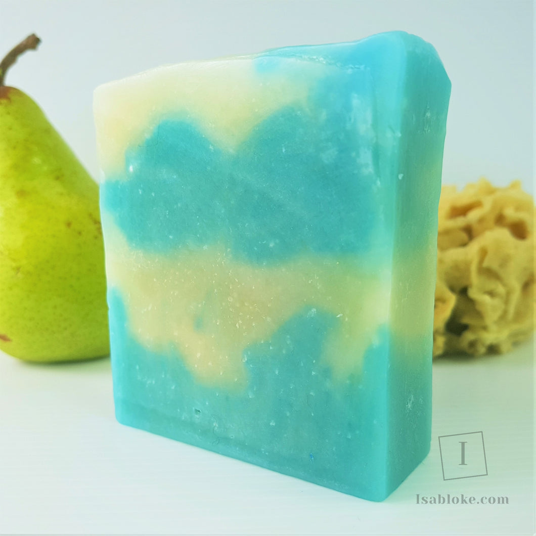 Blue Pear Soap,Soap,Isabloke,Gift Creations.