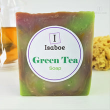 Load image into Gallery viewer, Green Tea Soap,Soap,Isaboe,Gift Creations.