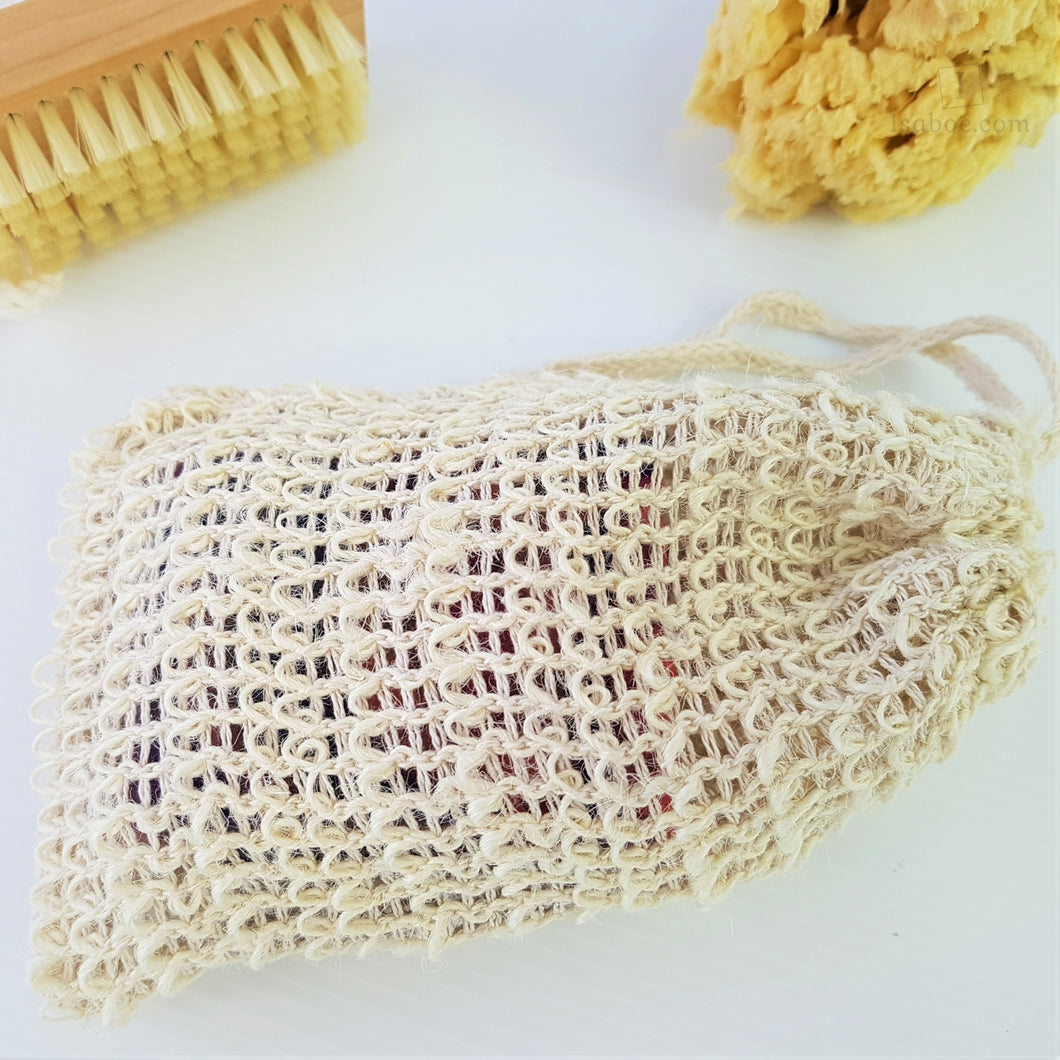 Sisal Soap Saver/Exfoliator,Soap,Isaboe,Gift Creations.