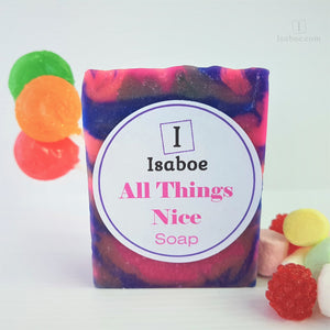 All Things Nice Soap - Limited Edition,Soap,Isaboe,Gift Creations.