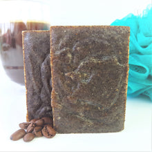 Load image into Gallery viewer, Coffee Scrub Soap - Great for Mechanics, Gardeners & People who love to Fish,Soap,Isaboe,Gift Creations.