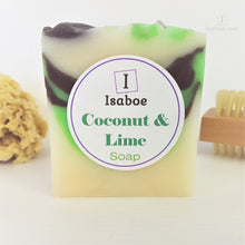 Load image into Gallery viewer, Coconut & Lime Soap,Soap,Isaboe,Gift Creations.