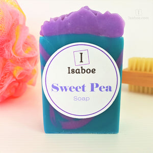 Sweet Pea Soap,Soap,Isaboe,Gift Creations.