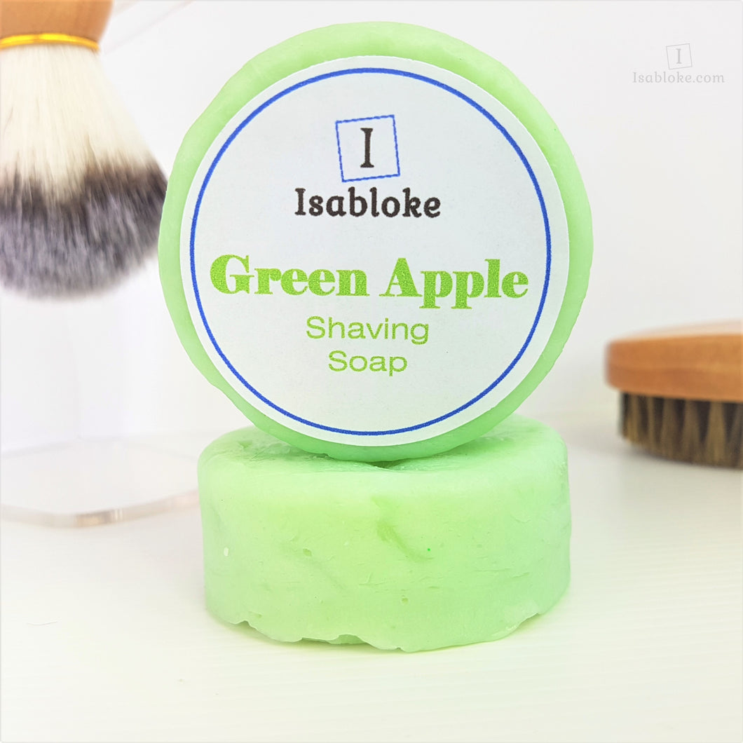 Green Apple Shaving Soap,Shaving Set,Isabloke,Gift Creations.