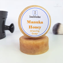 Load image into Gallery viewer, Manuka Honey Shaving Soap,Shaving Set,Isabloke,Gift Creations.
