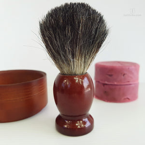 Wooden Brush and Bowl Shaving set,Shaving Set,Isabloke,Gift Creations.