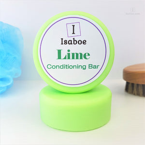 LIme Hair Conditioning Bar,Conditioning Bars,Isaboe,Gift Creations.