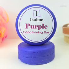 Load image into Gallery viewer, Purple Hair Conditioning Bar,Conditioning Bars,Isaboe,Gift Creations.