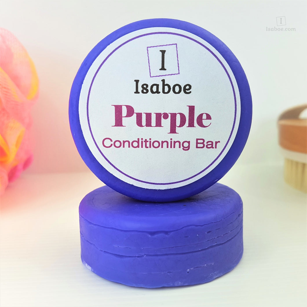 Purple Hair Conditioning Bar,Conditioning Bars,Isaboe,Gift Creations.