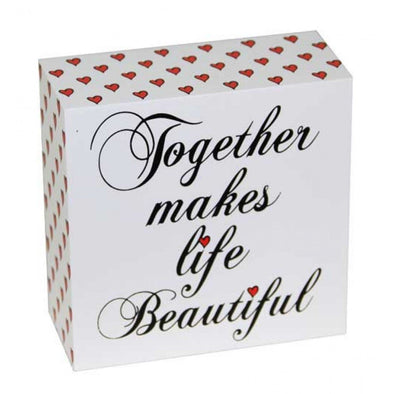 Together Makes Life Beautiful Sign,,Gift Creations,Gift Creations.