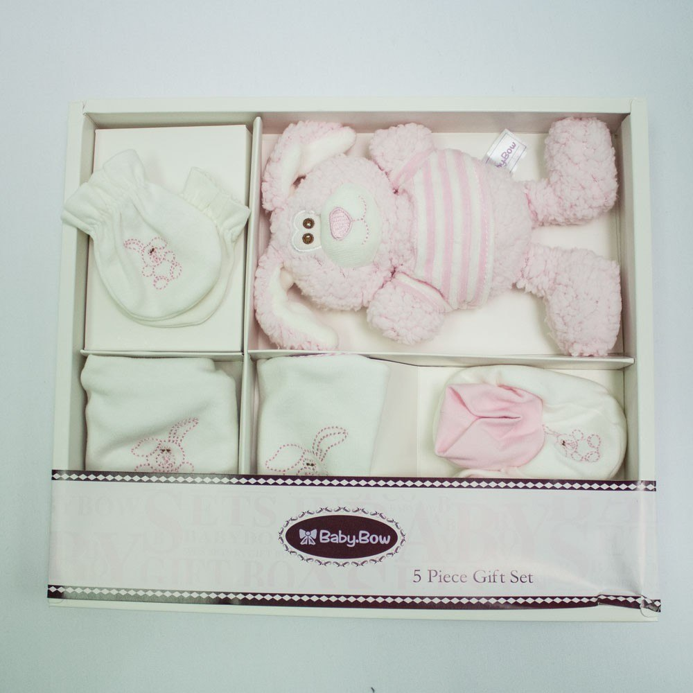 Pink Bunny Gift Set,,Gift Creations,Gift Creations.